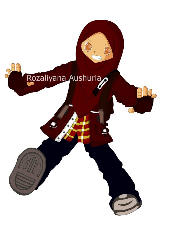 Tipe Teen Muslimah yang sporti dan semangat