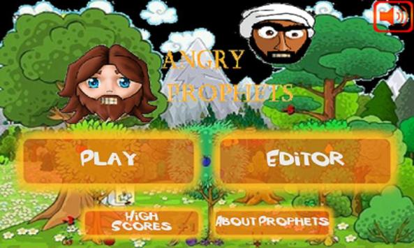 Tampilan awal Angry Prophet