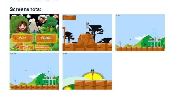 Screen shoot latar belakang yang berbeda